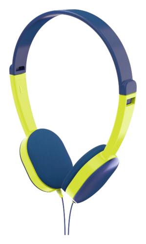 Hama Kids On-Ear Stereo Headphones blue/green