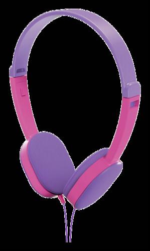 Hama Kids On-Ear Stereo Headphones purple/pink