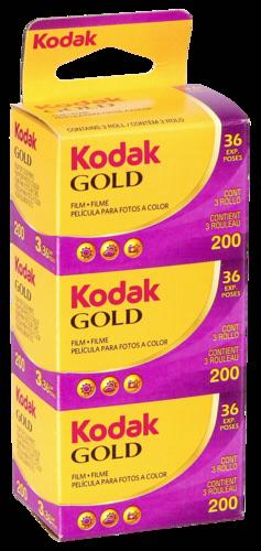 Kodak Gold 200 135/36 1x3