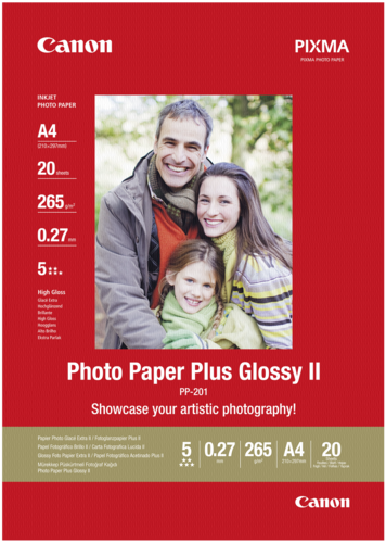 Canon PP-201 Plus Glossy II A4 265gr (20 sheets)