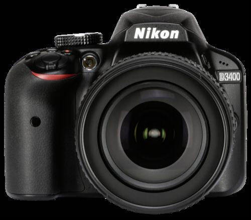 Nikon D 3400 Black Kit AF-S 18-105mm DX VR