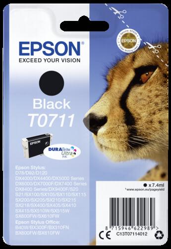 Epson Cartridge T0711 DURABrite black