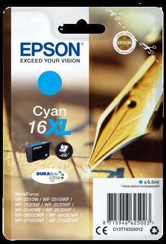 Epson Cartridge T1632 DURABrite Ultra Cyan XL