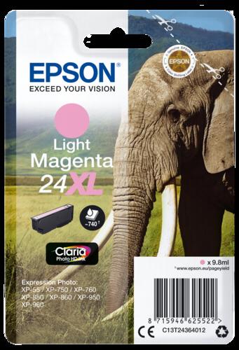 Epson Cartridge T2436 Claria Photo HD Light Magenta XL