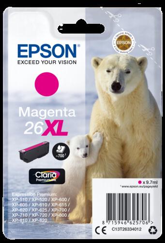 Epson Cartridge T2633 Claria Premium magenta XL