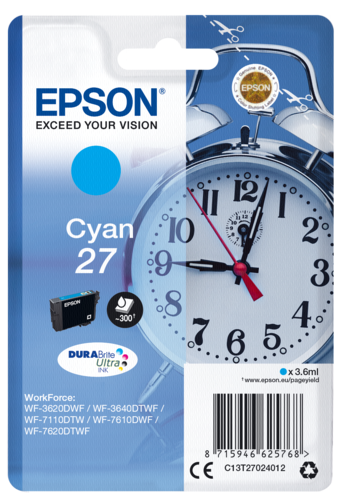 Epson Cartridge T2702 DURABrite Cyan
