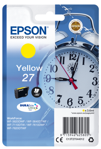 Epson Cartridge T2704 DURABrite Yellow