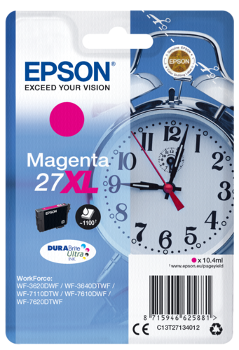 Epson Cartridge T2713 DURABrite Magenta XL