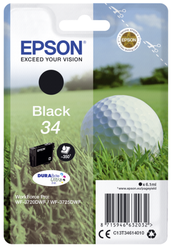 Epson Cartridge T3461 DURABrite Ultra black