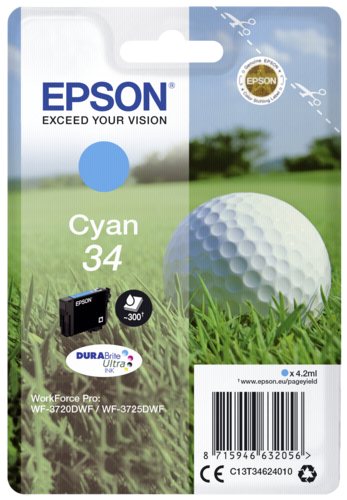 Epson Cartridge T3462 DURABrite Ultra cyan