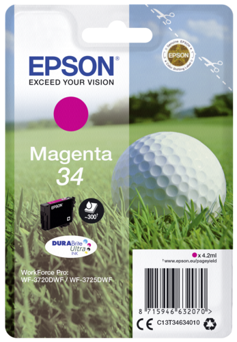 Epson Cartridge T3463 DURABrite Ultra magenta