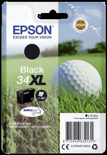 Epson Cartridge T3471 DURABrite Ultra black XL