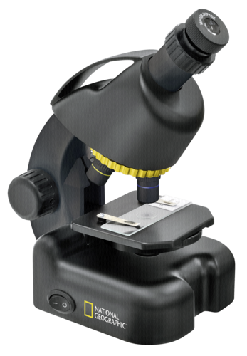 National Geographic 40-640x Microscope with Smartphone Adapter