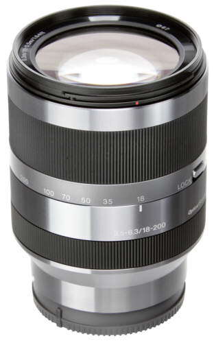 Sony E-Mount 18-200mm f/3.5-6.3 Silver