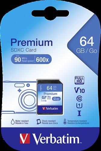 Verbatim SDXC Card 64GB Class 10
