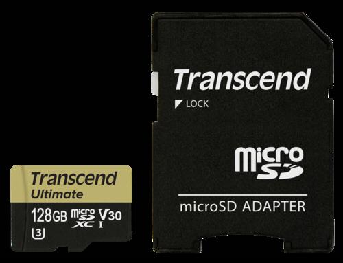 Transcend microSDXC 128GB UHS-I MLC U3M + adapter