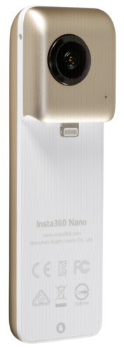 Insta360 Nano camera 360° gold for iPhone