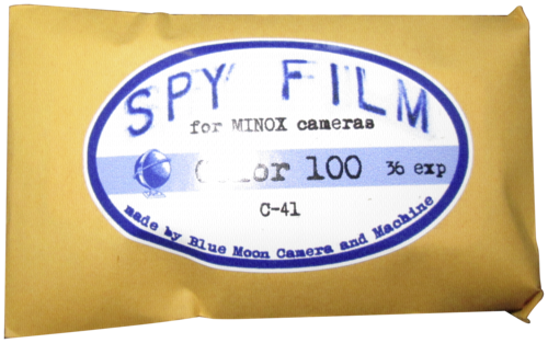 Minox SPY Film 100 8x11/36 Color
