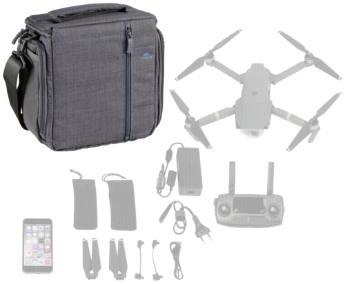 Rivacase Drone Bag Mavic Pro S7553 grey