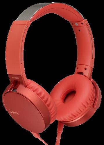 Sony MDR-XB 550AP red
