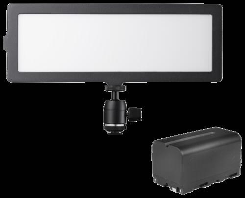 Walimex Pro Soft LED 200 Flat Bi Color Set1