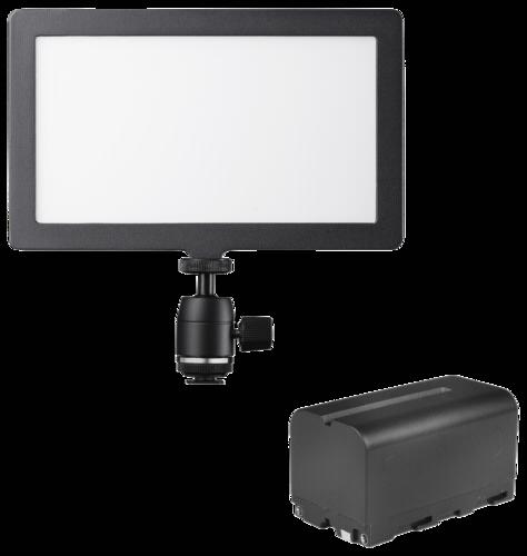 Walimex Pro Soft LED 200 Square Bi color Set1