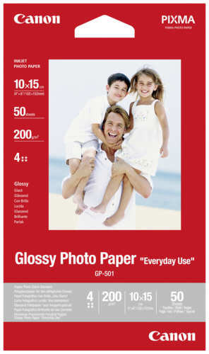 Canon GP-501 10x15 glossy 200 g 50 Sheets