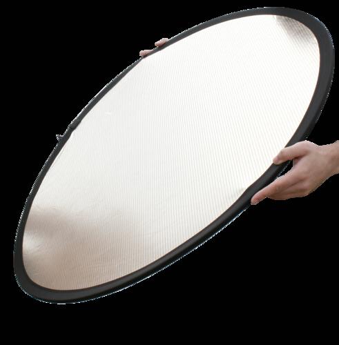 Lastolite Circular Reflector Silver/White 50cm