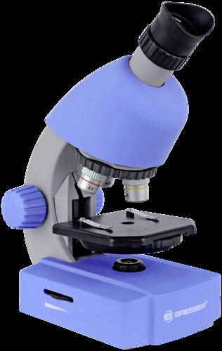 Bresser 40x-640x Microscope Blue