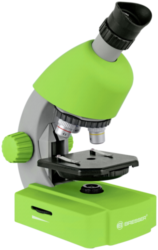 Bresser 40x-640x Microscope Green