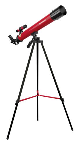 Bresser Junior lens telescope 50/600 AZ red