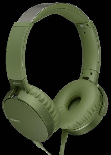 Sony MDR-XB 550AP green