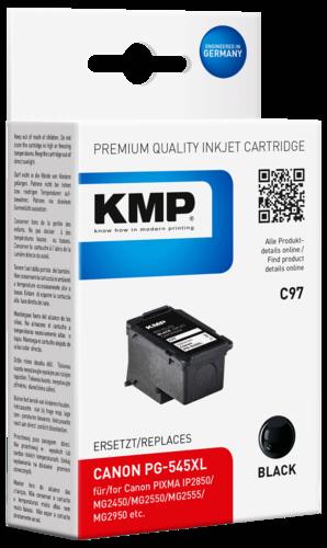 KMP C97 cartridge Canon PG-545XL black
