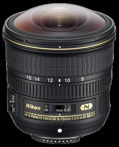 Nikon AF-S 8-15mm f/3.5-4.5 ED Fisheye