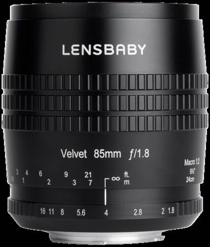 Lensbaby Velvet 85 Nikon F