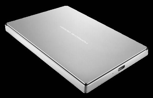 Lacie Porsche Desgin 1TB Mobile Drive USB 3.1