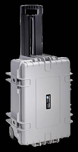 B&W Copter Case Type 6700 Inlay for DJI Phantom 4 Grey