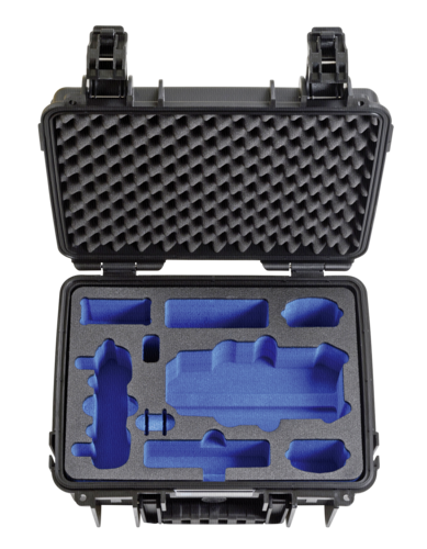 B&W Copter Case Type 3000 Inlay for DJI Mavic Pro black