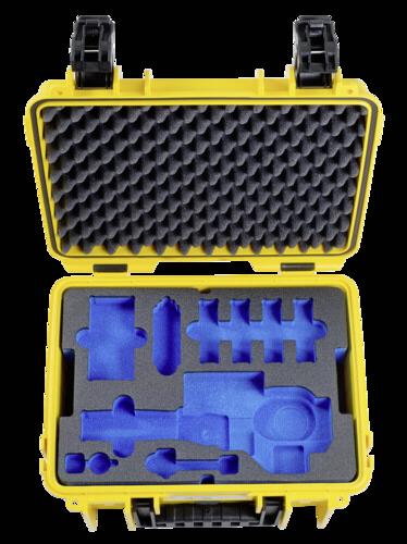 B&W Osmo Case 3000 with DJI Osmo X3/ Plus/Zoom In Yellow
