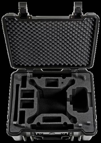 B&W Copter Case Type 61 Inlay for DJI Phantom 4 Pro Black