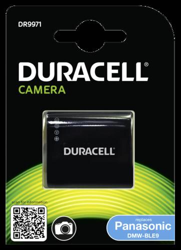 Duracell Li-Ion  780 mAh for Panasonic DMW-BLG10 DMW-BLE9