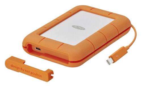 LaCie Rugged USB-C 2TB Thunderbolt USB 3.0