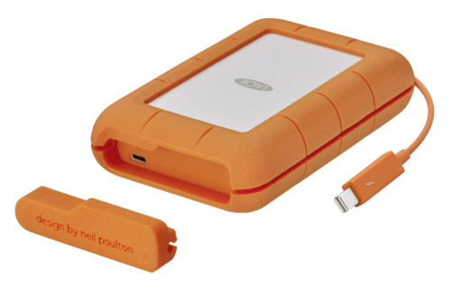 LaCie Rugged USB-C 5TB Thunderbolt USB 3.0