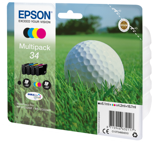 Epson Cartridge T3466 DURABrite Ultra Multipack BK/C/M/Y