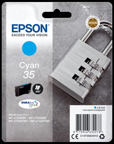 Epson Cartridge T3582 DURABrite Ultra cyan