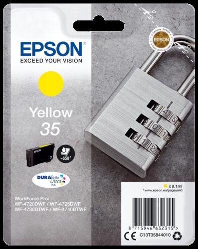 Epson Cartridge T3584 DURABrite Ultra yellow