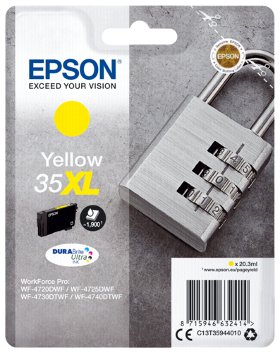 Epson Cartridge T3594 DURABrite Ultra yellow XL