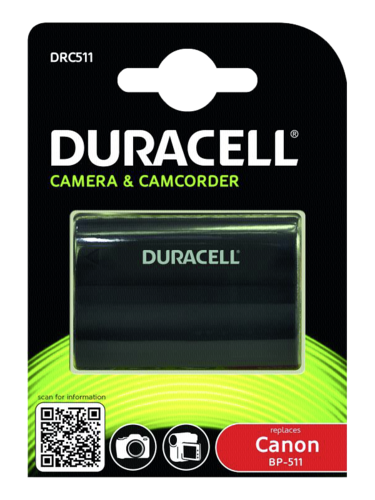 Duracell Canon BP-511 1600mAh