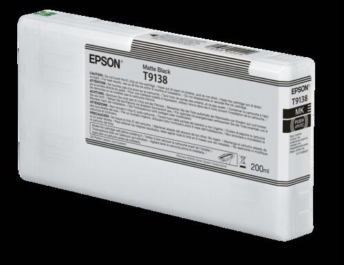 Epson Cartridge T9138 UltraChrome mat black
