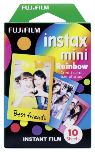 Fujifilm Instax Film mini Rainbow